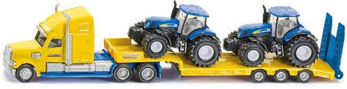 US Truck mit 2 New Holland Traktoren 1:87 1805