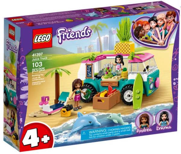 LEGO® Friends Mobile Strandbar 41397 - Bild 1