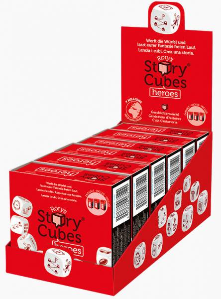 Story Cubes Heroes rot ASMD0055