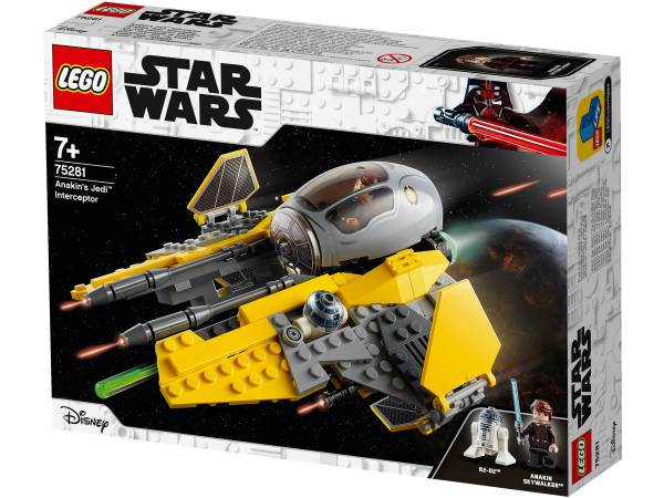 LEGO® Star Wars Anakins Jedi™ Interceptor 75281 - Bild 1