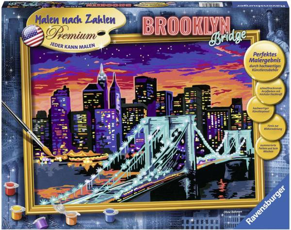 Malen nach Zahlen - Brooklyn Bridge 288977 - Bild 1