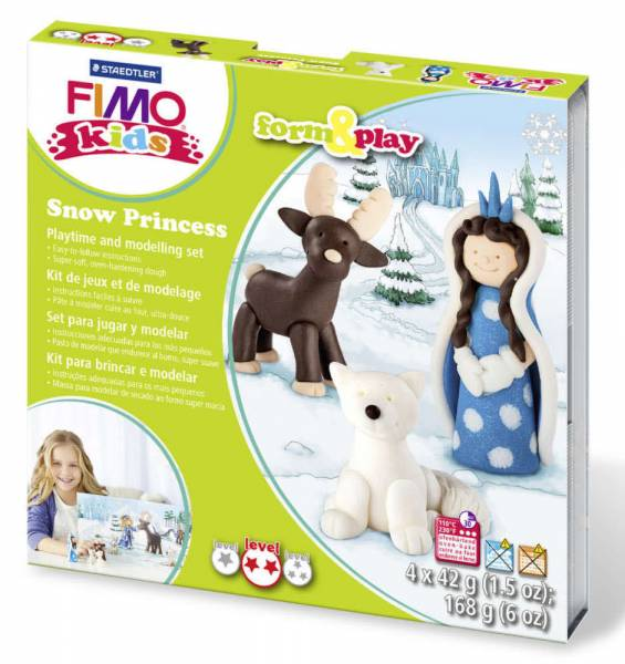 FIMO kids form & play Schneekönigin 803418LY - Bild 1