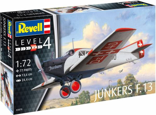 Junkers F.13 1:72 03870