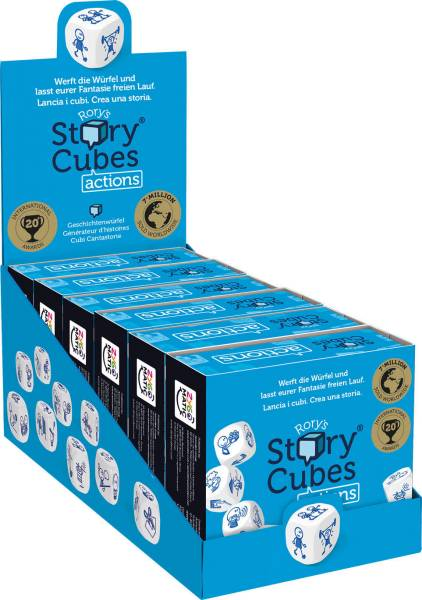 Story Cubes Action blau ASMD0023