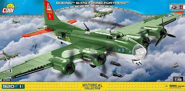 Boeing B-17 Flying Fortress 920 Teile 5703