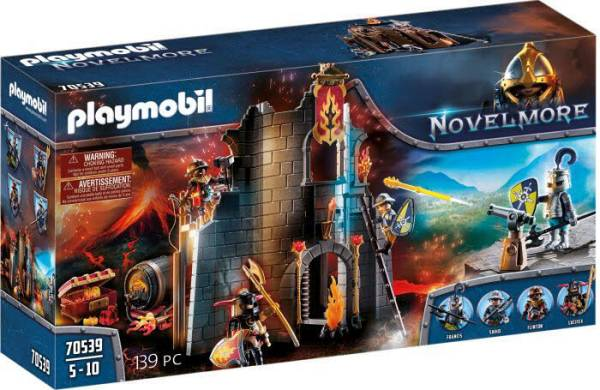 PLAYMOBIL Burnham Raiders Feuerruine 70539