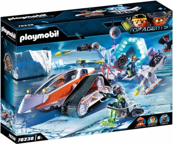 PLAYMOBIL 70230 Spy Team Kommandoschlitten 70230