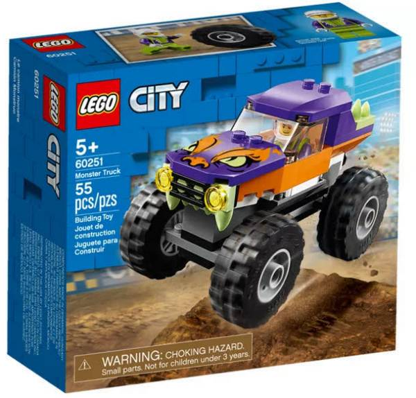 LEGO® City Monster-Truck 60251 - Bild 1