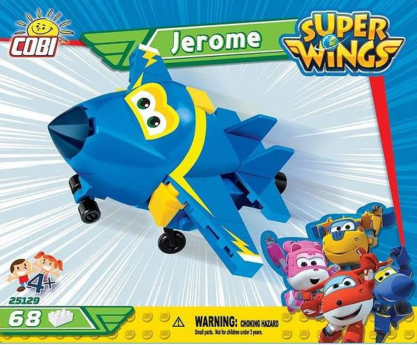 Jerome Super Wings 60 Teile 25129