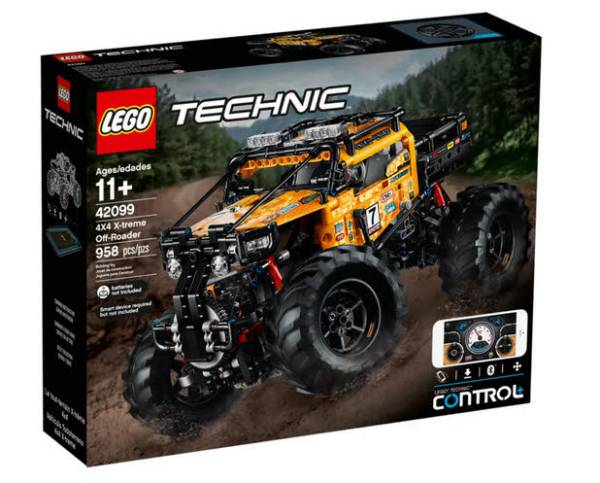 LEGO® Technic 4x4 Crawler RC 42099