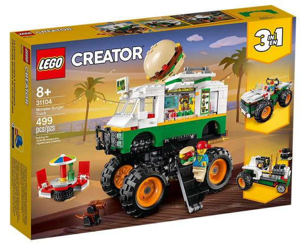LEGO® Creator Burger-Monster-Truck 31104 - Bild 1